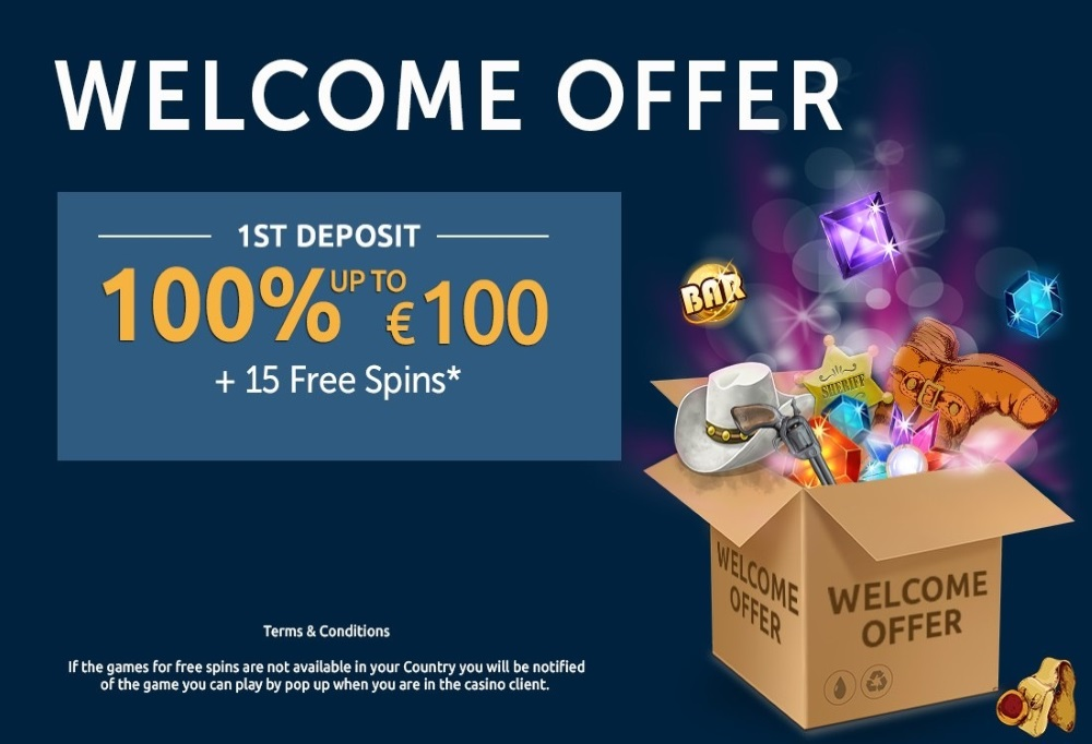 What is the welcome offer at Red Kings Casino?