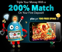 Sloto'Cash's bonus offers mostly target slot players.